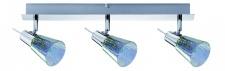 603.16 Paulmann Deckenleuchten Spotlight Omikron Balken 3x42W G9 230V Chrom Metall/Glas