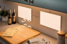 Function Glow LED-Panel 1er BasicSet Dif 25x40cm 8W 230/24V 24VA Ws Sat Met/Kst