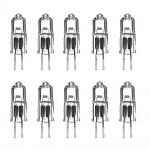 10 x Paulmann 12V TIP Halogen Stiftsockel 10W G4 Fassung mm Klar