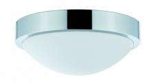 703.01 Paulmann Deckenleuchten WallCeiling Falima IP44 max.60W 250mm E27 Chrom/Opal 230V Metall/Glas