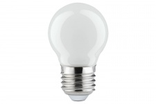 280.30 Paulmann E27 Fassung LED Tropfen 0, 6W E27 Tageslichtweiß