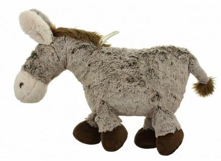 """Plüsch Esel """" Pablo"""" 37 cm hoch, grau / braun, Kuschel Spiel Stoff Tier Figur - Vorschau 2"""