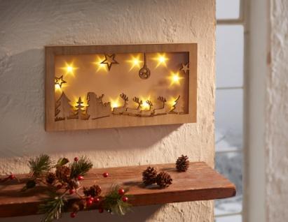 led bild 39 weichnachtsnacht holz deko wand schmuck leuchtdeko weihnachten winter kaufen bei. Black Bedroom Furniture Sets. Home Design Ideas