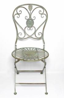 Garten Klappstuhl metall stuhl pfauenauge gartenstuhl antik klappstuhl garten
