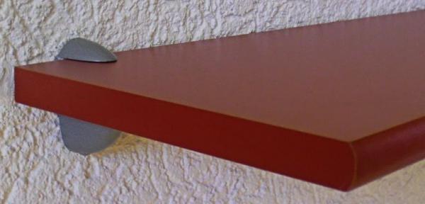 REGAL WANDCLIP MINI silber 4-20 mm 2er SET NEU ALU TRÄGER WAND HALTER HALTERUNG