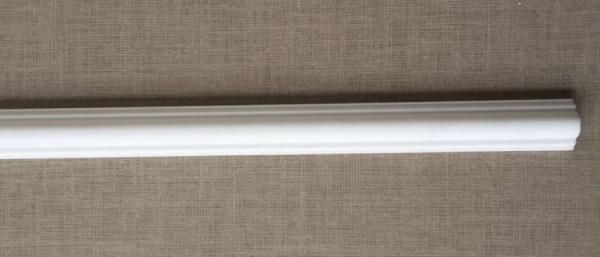 20m Decken Leisten 10x 2m PL5 Dekor Leiste 25 mm 3D Optik Zier Profil Styropor