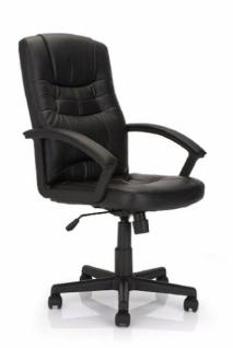 Designer Chef Sessel von ELIZA TINSLEY, schwarz, Büro Dreh Office Computer Stuhl