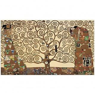 "Artopweb Kunst Druck Gustav Klimt "" The Tree of Life"" 136x80 cm Wand Bild Print"