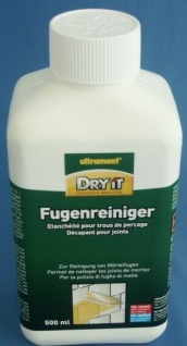 ULTRAMENT DRY IT FLIESEN FUGENREINIGER FUGEN REINIGER 500ml - 5, 90 €/L