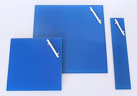 CORKLINE GLAS MAGNETTAFEL blau 10x50 NEU PINNWAND MAGNETBOARD MEMOBOARD