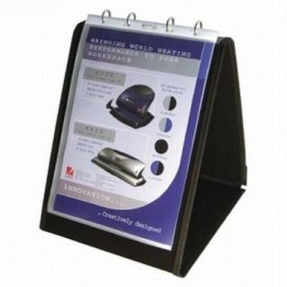 NOBO Tisch Flipchart A4 hoch, 10 Sicht Hüllen, Austeller Präsentations Mappe
