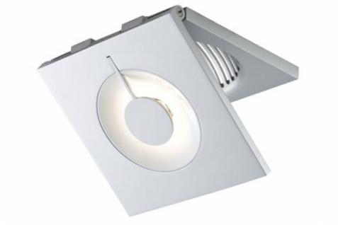 PAULMANN EBL-SET PREMIUM LINE SCORE 1x10W LED, CHROM MATT, 90° KIPPBAR