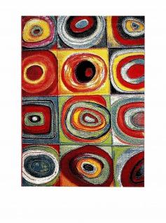 HOMEMANIA Teppich MODERN Z 133x190, Kurzflor, Print mehrfarbig bunt - Vorschau