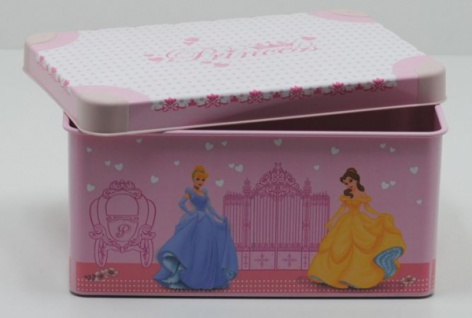 Curver Disney PRINCESS Spielzeug Aufbewahrungs Box 7 L Deko Kiste Box Kassette