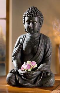 """Buddha ?Innere Ruhe"""" Deko Figur Denkfigur Feng Shui Statue Skulptur Objekt"""