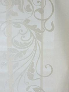 10m Rasch Vliestapete Tapete creme mit Blätter Ranken Muster, 106cm 1, 78€/qm