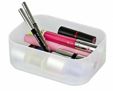 Wenko Bad Kosmetik Organizer Ice Cube Weiß 3 Aufbewahrungs Boxen Stapelbar - Vorschau 4