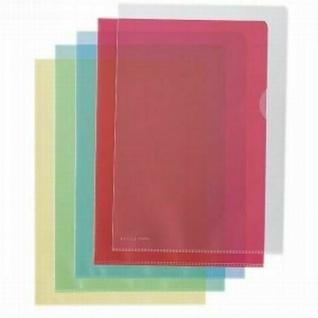 250 Stück HETZEL Sichthüllen A4 grün aus PP Prospekthüllen Dokumentenhüllen