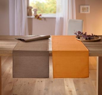 Tischläufer 'Shiny Orange? 40x150 cm Tisch Deko Band Deko Herbst Halloween