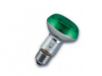 3x Osram Concentra Spot R63 grün, 40W, E27, Reflektor Glühlampe Strahler Lampe