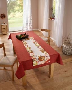 """Tischläufer ?Kürbisernte"""" 40x140 cm Tisch Deko Band Deko Herbst Halloween"""