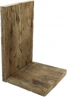 Wand Regal aus recyceltem Paletten Holz klein, Blumen Hänge Board Shabby Vintage - Vorschau 3