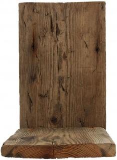 Wand Regal aus recyceltem Paletten Holz klein, Blumen Hänge Board Shabby Vintage - Vorschau 1