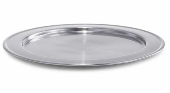 Zeller 27330 EDELSTAHL PLATZTELLER Ø 30 cm silber DEKO SERVIER PLATTE TELLER