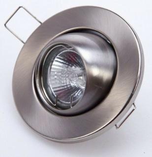 """Heitronic 30100 Metall Einbau Strahler """" Idony"""" 3x 20W EBL Set Decken Leuchte"""