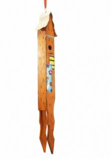 großes Vogel Haus 95cm hoch, MDF in Holz Optik, Nistkasten Futter Häuschen