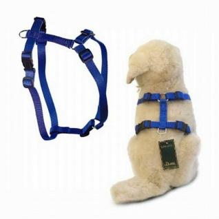 "Hunter Nylon Hunde Geschirr "" Vario Rapid"" blau, Gr. S 30-40 cm Brust Umfang"