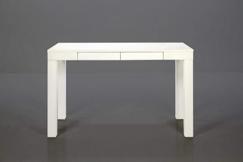 AC Design Furniture Schreibtisch LAURA, weiß, mit Schublade, Büro Computer Tisch