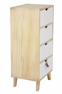 Kommode Pure Gross Aus Holz Mit Schubladen Nacht Tisch Schrank