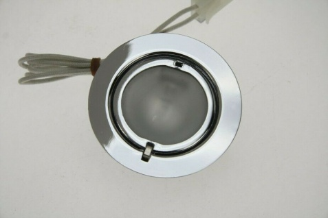 Heitronic Einbau Strahler SALZBURG chrom 3x 20W EBL Decken Leuchten Lampen Set