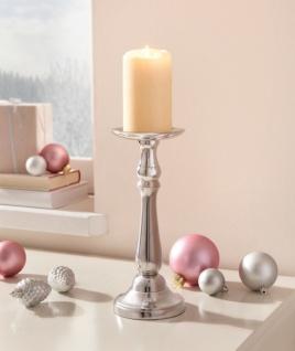 Kerzen Ständer 'Maison? Teelicht Halter Metall Windlicht Weihnachten - Vorschau 1