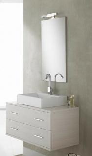 ital. Design Bad Spiegel 90 x 47, 5 cm mit LED Beleuchtung Badezimmer Wand  Panel
