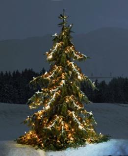 Lichter Kette mit 600 LED, Innen + Aussen, Weihnachts Baum Beleuchtung Netz