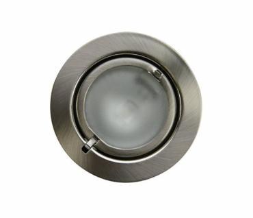 Heitronic Einbau Strahler SALZBURG chrom 5x 20W EBL Decken Lampen Leuchten Set