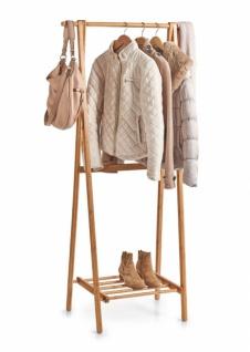 Kleiderstange Holz garderobenständer aus bambus holz kleiderständer kleiderstange