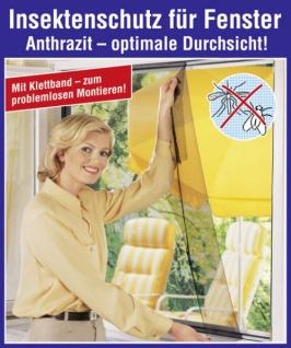 5x Wenko Fliegengitter Schwarz 100x100 Neu Fenster Insektenschutz MÜckenschutz - Vorschau