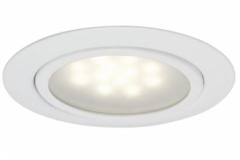 PAULMANN MÖBELEINBAULEUCHTE LED SET 3x1W 230/12 V 12VA METALL WEISS