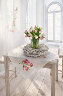 Deko Kranz Mit Glas Rustic Als Windlicht Oder Vase Rebenholz