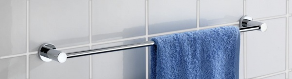 Wenko Handtuchstange Uno Valente Verchromt Badetuchstange Wand Handtuchhalter - Vorschau 3