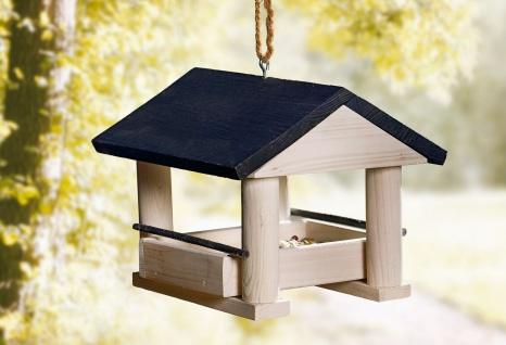 Vogelfutter Haus aus Holz, Kiefer, Vogel Futter Häuschen Villa Spender Station