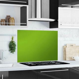 """Küchen Rückwand """" Green Splash"""" Glas grün, 90x65 Herd Spüle Spritz Schutz Platte"""