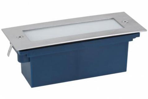 PAULMANN WANDEINBAULEUCHTE LED LEUCHTE 1x1, 2W 170x70 mm IP65 EDELSTAHL