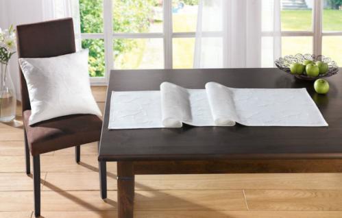 tischl ufer eleganz 40x150cm weiss tischdeko tischdecke tischband baumwolle kaufen bei. Black Bedroom Furniture Sets. Home Design Ideas