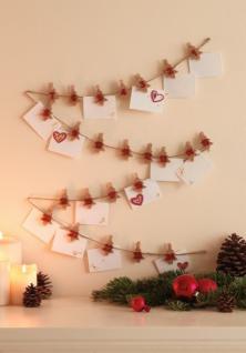 Klammer Set Adventszeit Adventskalender Weihnachten Basteln Neu
