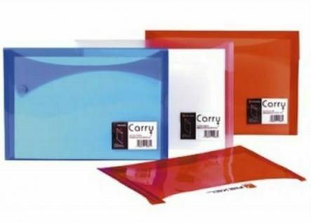 25x REXEL Carry Xtra Folder Dokumenten Mappe A4, rot, Akten Sammel Box