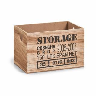 """Zeller UTENSILIEN HALTER """" Storage"""" klein AUFBEWAHRUNG BOX KISTE KORB UTENSILO"""